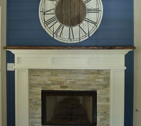 Fireplace Makeover Idea, Diy, Fireplaces Mantels, Painting, Woodworking  Projects ... Part 60