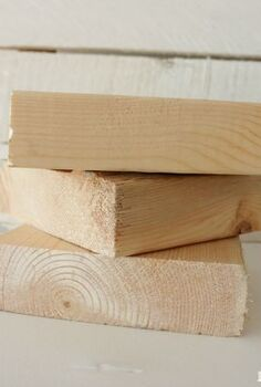 how to make wood block faux christmas presents, christmas decorations, crafts, seasonal holiday decor