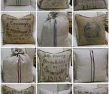 q were to get grain sack french linen fabrics, crafts, reupholster