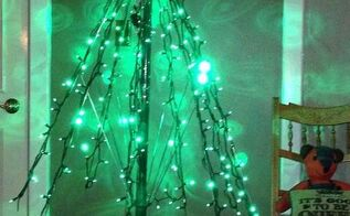 how to make an umbrella tree for christmas, christmas decorations, repurposing upcycling, seasonal holiday decor