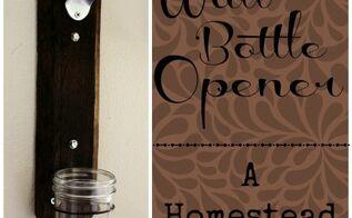 diy wall bottle opener