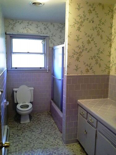 1960s Lavender Bathroom Remodel Suggestions Hometalk