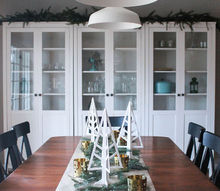 how to set up a holiday ready dining room, dining room ideas, seasonal holiday decor