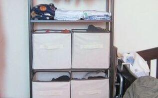 ikea hack how to turn laiva bookcase into a closet, closet, diy