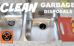 how to clean a garbage disposal in 4 easy tips, cleaning tips, how to, plumbing