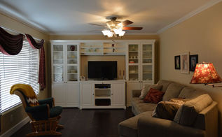 family room remodel idea, home decor, living room ideas, wall decor, woodworking projects, AFTER