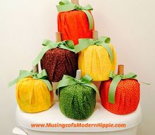 easy no sew thanksgiving decorations, seasonal holiday decor, thanksgiving decorations