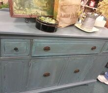 buffet updated with websters chalk paint powder, chalk paint, home decor, painting, repurposing upcycling