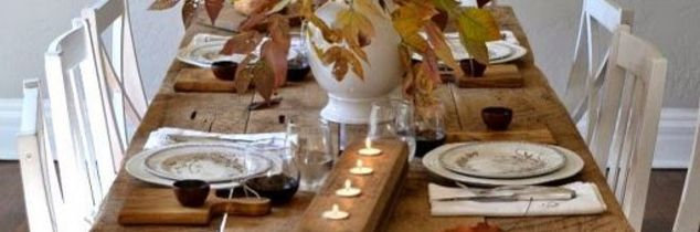 how much to charge someone to paint their furniture, painted furniture, Natural Beautiful Thanksgiving Table