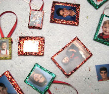 how to make family tree ornaments with photos, christmas decorations, crafts, seasonal holiday decor