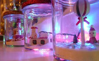how to make christmas jars, christmas decorations, crafts, mason jars, seasonal holiday decor
