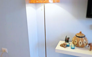how to dress up an ikea lamp shade, diy, electrical, home decor, lighting