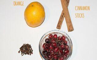 how to make cranberry orange stovetop potpourri, crafts