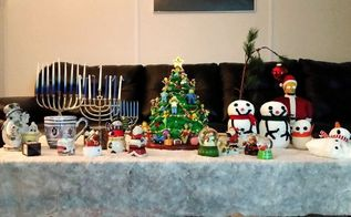 christmas and hanukkah decorations, Holidays at our house
