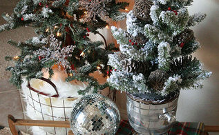 inspiration ideas for rustic and glam christmas decor, christmas decorations, seasonal holiday decor