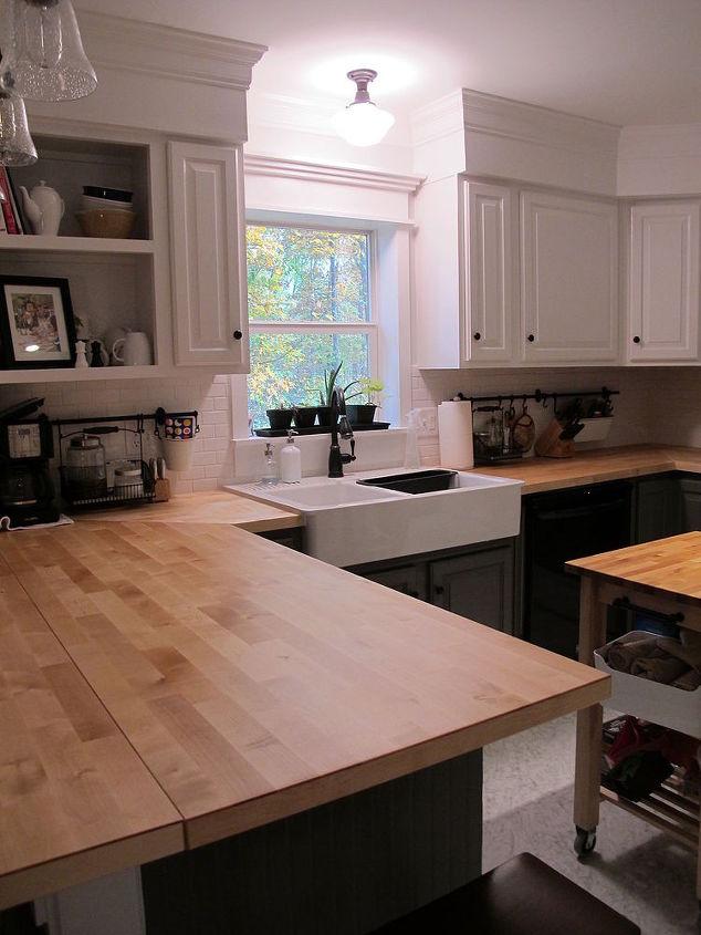 Kitchen redo ideas using white paint | Hometalk