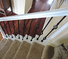 should a handrail match the carpets