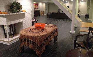 montrose basement remodel, basement ideas, home improvement, tile flooring