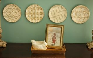 how to hang plates easily and inexpensively, home decor, how to, wall decor