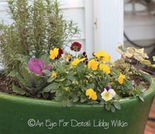 container gardening tips for winter, container gardening, gardening