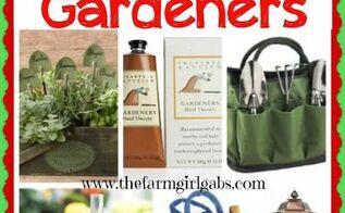 gift ideas for gardeners, christmas decorations, gardening, seasonal holiday decor