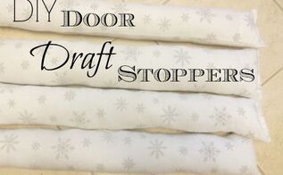 diy door draft stopper, crafts, doors, home maintenance repairs, repurposing upcycling