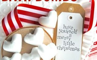 diy peppermint bath bombs you ll love these festive fizzies, crafts, how to