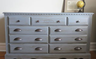 a manly paint makeover for my childhood dresser, chalk paint, diy, painted furniture