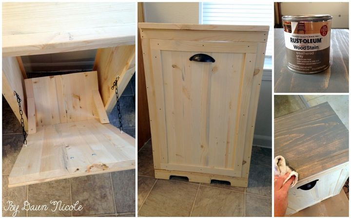 Hide your ugly trash can with this brilliant fix | Hometalk