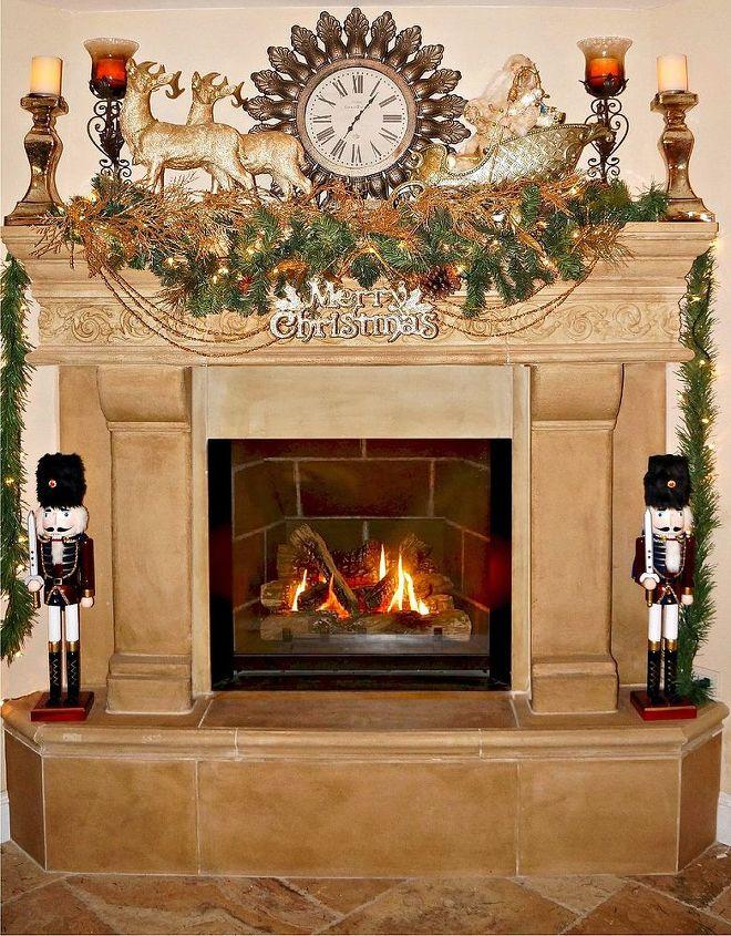 elegant christmas decor christmas decorations fireplaces mantels seasonal holiday decor - Elegant Christmas Decor