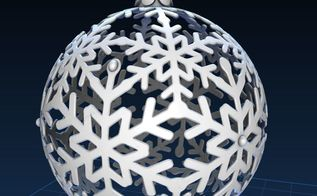 how to make 3d printed christmas ornaments, christmas decorations, crafts, how to, seasonal holiday decor