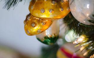 pretty christmas tree, christmas decorations, seasonal holiday decor