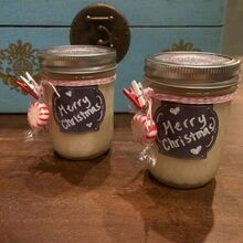 diy peppermint sugar scrub a fabulous fresh holiday gift, christmas decorations, crafts, diy, mason jars, seasonal holiday decor