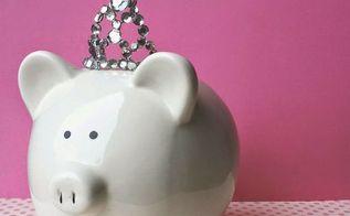 how to make a princess piggy bank, crafts