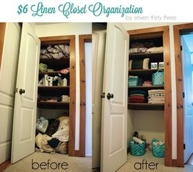 Marvelous ... Cheapest Closet Organizer : Linen Closet Organizing Hacks Idea Box By  Seven Thirty ...