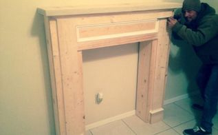 diy fireplace mantel, diy, fireplaces mantels, woodworking projects