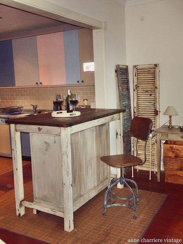 From Cabinet To Kitchen Island Hometalk