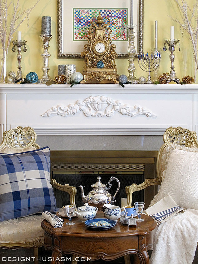 Hometalk for French country fireplace