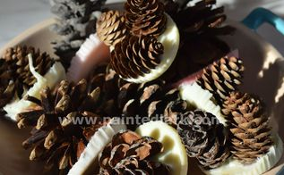 super easy diy pine cone fire starters, christmas decorations, crafts, fireplaces mantels, repurposing upcycling, seasonal holiday decor