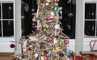 the vincent driftwood christmas tree, christmas decorations, repurposing upcycling, seasonal holiday decor, woodworking projects