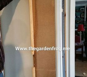 Diy Scrap Wood Patio Dog Cat Door, Doors, How To, Pets Animals