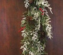 decorating with garland, christmas decorations, crafts, seasonal holiday decor