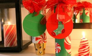 gift wrap containers from pringles cans, christmas decorations, crafts, decoupage, repurposing upcycling, seasonal holiday decor