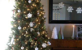 rustic christmas home decor, christmas decorations, crafts, repurposing upcycling, seasonal holiday decor