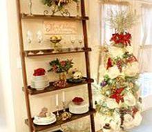 christmas kitchen gold decor, christmas decorations, seasonal holiday decor