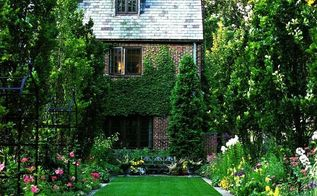 total yard makeover on a microscopic budget, concrete masonry, flowers, gardening, landscape, outdoor living, lisadreissig com via Pinterest