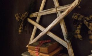 christmas rustic stars from old picture frames, christmas decorations, crafts, repurposing upcycling, seasonal holiday decor
