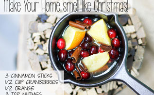 make it smell like christmas all year round, christmas decorations, crafts, how to, seasonal holiday decor