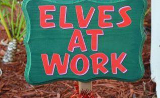 diy christmas yard sign, christmas decorations, crafts, seasonal holiday decor