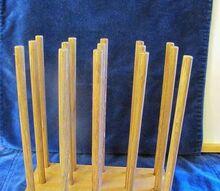 q homemade pasta rack, crafts